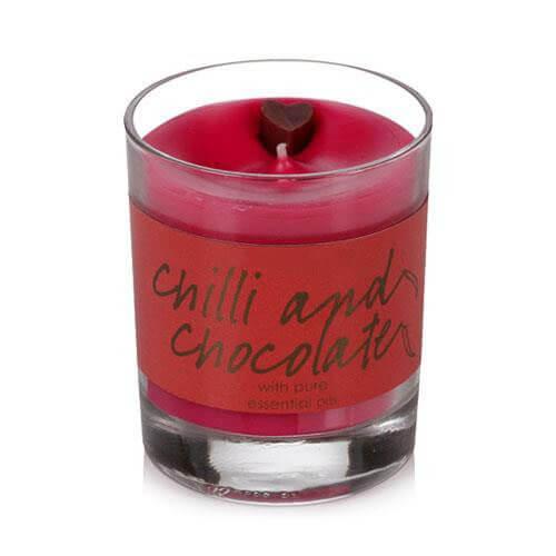 6oz Chilli Chocolate Jar Candle - 6oz Chilli &Chocolate  Jar Candles