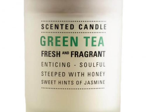 1.7oz Green Tea Glass Jar Candles