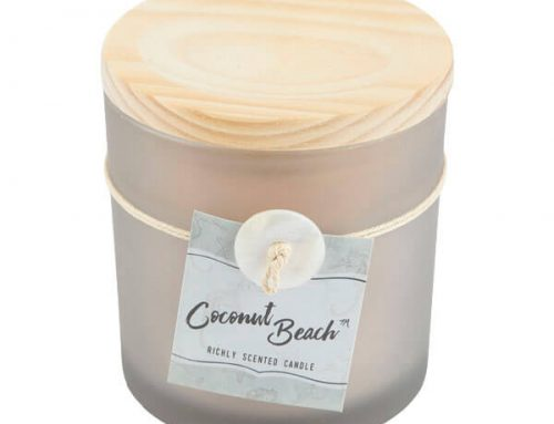 1.7oz Coconut Beach Jar Candles
