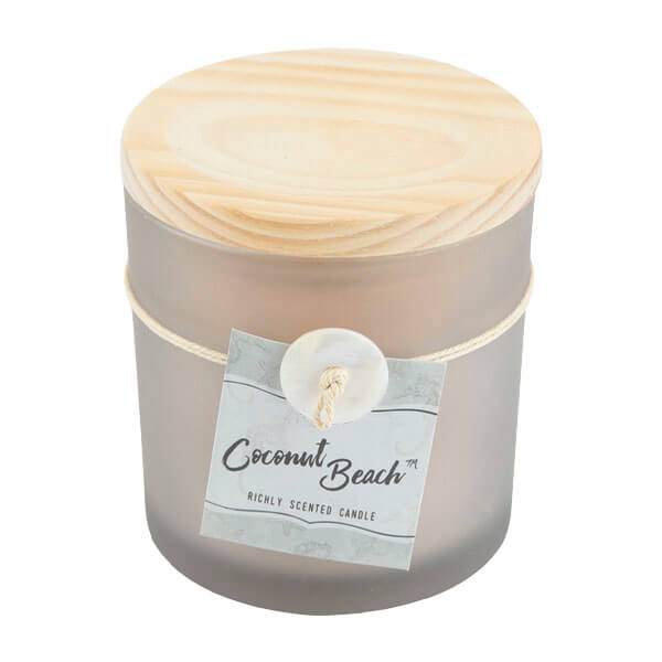1.7oz Valley Lily Jar Candles - 1.7oz Coconut Beach Jar Candles