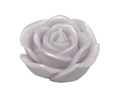 Purple Rose Floating Candles